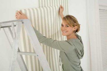 Doplnok, ktorý vám spestrí domov - Lepíme tapety