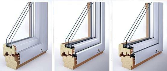 Drevohliníkové okná  - vyšší stupeň kvality