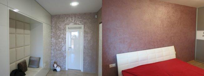 3D steny adekoračné omietky dodajú šmrnc každej izbe