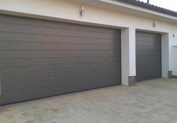 Pri rekonštrukcii garážovej brány elektrinu nepotrebujete!